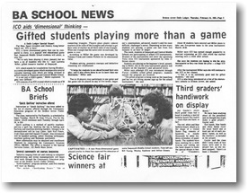 BA School News